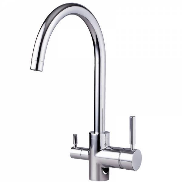 3in1 Wasserhahn Negro für Osmoseanlagen