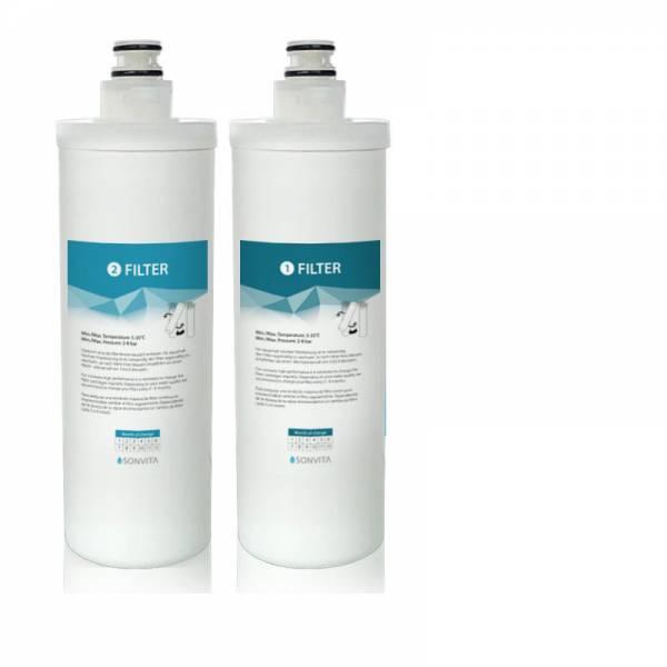 Filter-Set für die Osmoseanlagen Pura und Pura UP